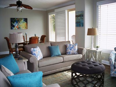 Photo for Recently Renovated; Gorgeous; Includes Flat Screen TVs & Beach Service