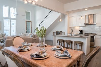 Open floor plan is perfect for gathering together!