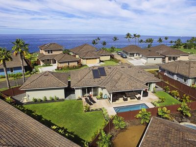 Photo for Single-Level Luxury Home within Holua Kai* Mountain View* Pool* Brand New!