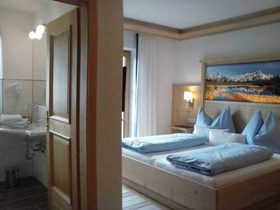 Photo for Double room with shower / WC and balcony and TV in room 1 - child-friendly recreation farm