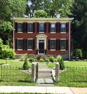 Front of home, summer 2017, 1890 Colonial Revival Home