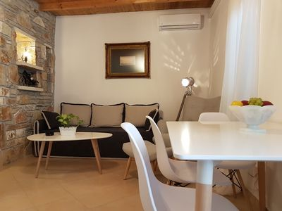 Photo for Nafplio Cosy Mountain Cottage . Recently renovated with view of the town fort.