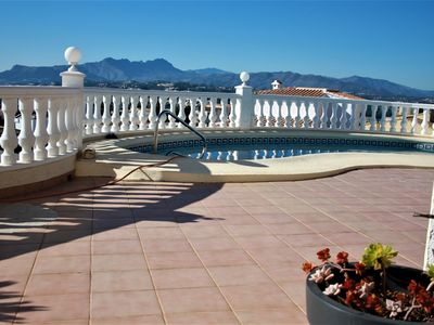 Photo for Villa CASARIS - dreamlike villa with spectacular panoramic and sea views