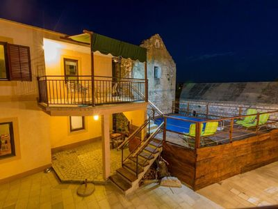 Photo for Large holiday home with private pool,wellness and sea view !