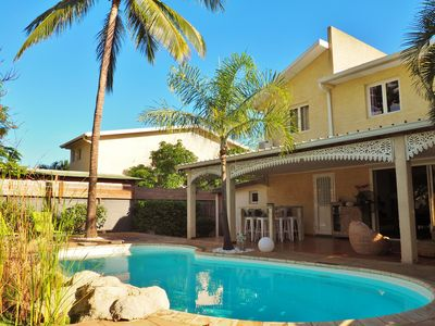 Photo for Villa Mademoiselle, swimming pool and lagoon 5 minutes walk