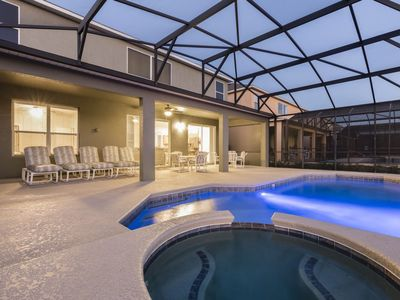 Photo for 7 bedroom pool home by Disney World