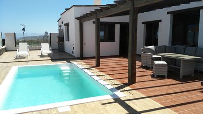 Photo for Villa with Pool in Villaverde -Connection Wifi
