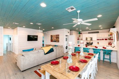 Living Area - Welcome to Port Aransas! This home is professionally managed by TurnKey Vacation Rentals.
