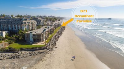 Photo for OCEANFRONT LUXURY, Renovated ground level corner cottage, D23 - Oceanfront Paradise