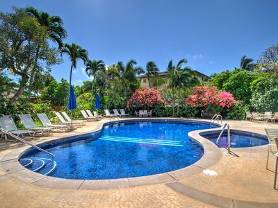 Photo for Fantastic Value, Central Poipu, Beautifully Updated Ground Floor / Garden View