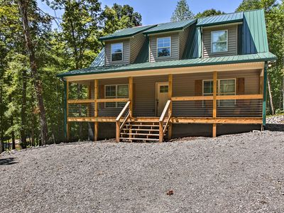 Photo for NEW! Nolin River Lake House Near Mammoth Cave!