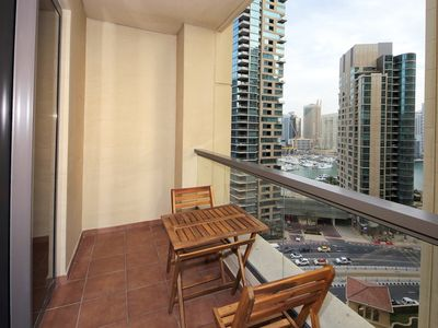 Photo for Spacious Amazing Rimal apartment in Jumeirah Beach Residence with WiFi, integrated air conditioning…