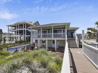 Photo for Super Family Fun Oceanfront Home, With A Private Pool And Beach Access