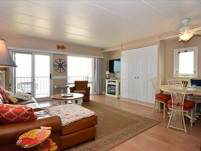 Photo for Ocean Front Two Bedroom Condo in Rehoboth Beach!