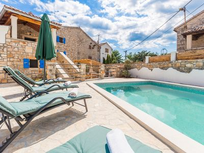 Photo for Modern Holiday Home in Baderna with Pool