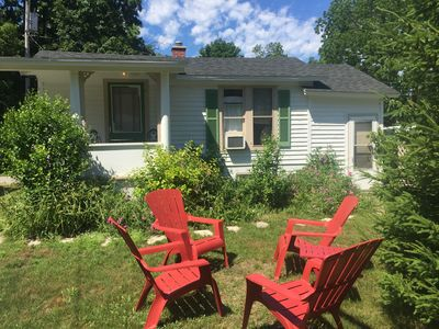 Photo for Quaint Frankfort Cottage - Short walk to beach
