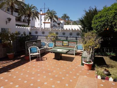 Photo for Beautiful Home Close to Beach with Large Terrace, Balconies, Garden & Wi-Fi; Parking Available, Pets Allowed