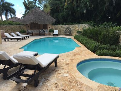 Photo for **5 Bedroom - Full Time Staff - Pool - Jacuzzi - WiFi - WetBar - Walk to Beach**