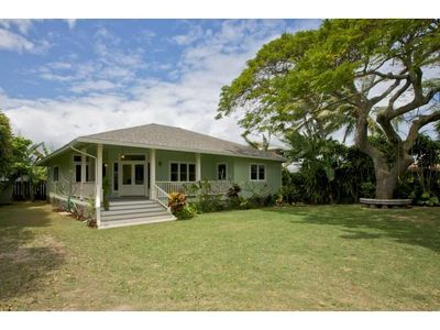 Photo for Kailua Kalama Plantation Home 1 Block to Beach, Newly Built, Very Quiet, Kids!!