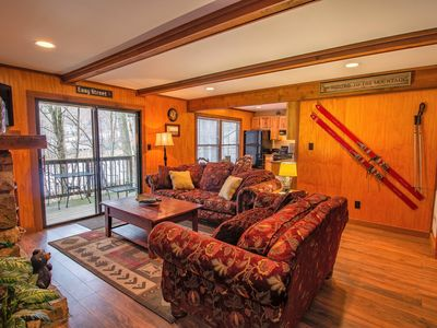 Photo for Creek-Side Condo with a Short Walk to the Ski Slopes