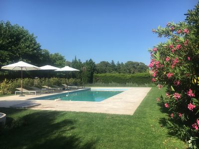 Photo for House 3 bedrooms 2 minutes from Uzes - calm on 4500 m² park and garden