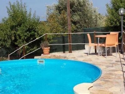 Photo for Swimming pool, near the sea, indoor parking, air conditioning, wifi