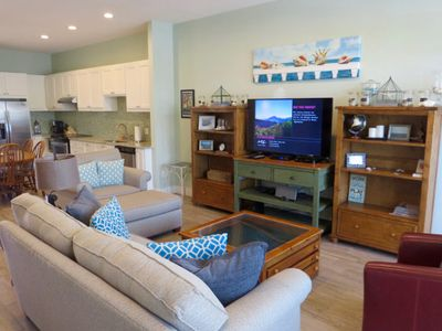 Photo for Cozy 2-bedroom condo with walk-in shower, great location, awesome porch!