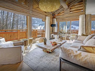 Photo for Indoor pool & sauna at this exclusive 5 star Alpine lodge - SnowLodge