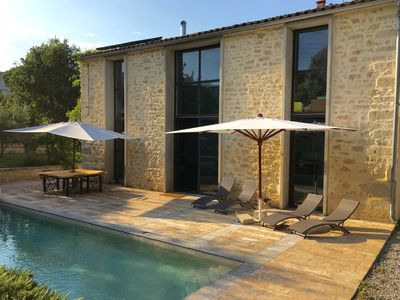 Photo for Beautiful property, pool and large garden in the heart of Montpellier.