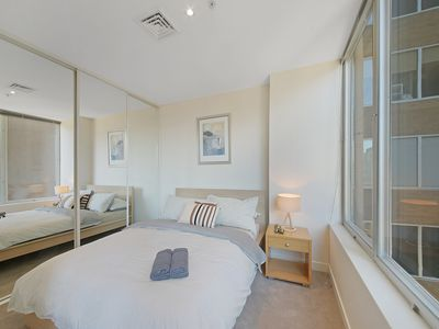Photo for A Cozy 2BR Apt on Collins Near Flinders Station