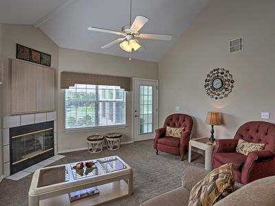 Photo for Bright Branson Condo w/Fireplace - On Golf Course!