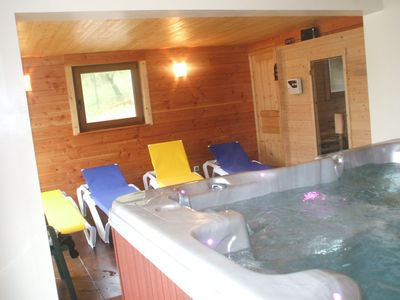 Photo for VOSGES - GERARDMER (18 kms) cottage 5/7 pers. with SPA JACUZZI and SAUNA