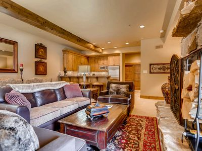 Photo for Only a Few Steps From Deer Valley Slopes! Private Hot Tub