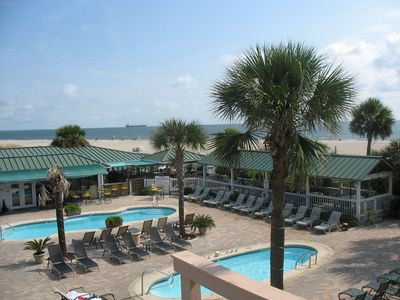 Photo for 3 Pools, Newer Condo, Private Hot Tub, Oceanfront Complex