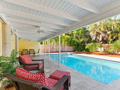 Photo for Old Florida Charm Newly Updated Pool Home, Wi-Fi, Walk to Beach!