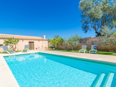 Photo for CA SES NINES - Cosy townhouse with private pool in inland Majorca.