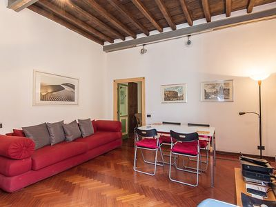 Photo for Apartment in the center of Rome with Internet, Washing machine, Air conditioning (127491)