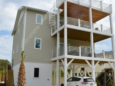 Photo for Just Built 4BR/3Ba (sleeps 10) Single Family Home with Elevator and Pets Welcome