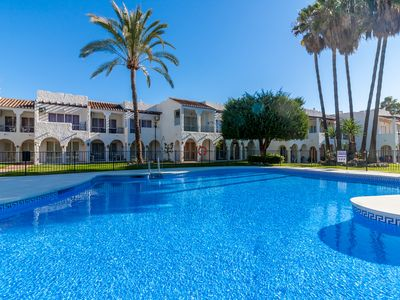 Photo for Frontline beach apartment with terrace and pool - Rio Marinas Canovas Nerja(9)