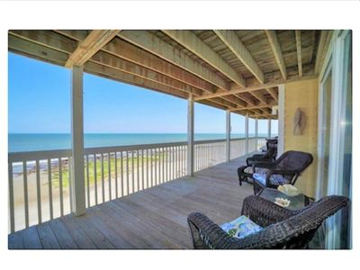 Photo for LARGE/Spacious Oceanfront Condo in Kure Beach with resort style amenities!!