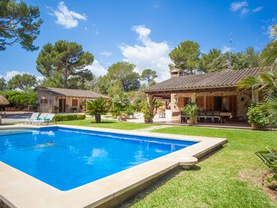 Photo for BON PAS - Villa with private pool in Alcúdia - Malpas.