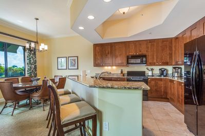 Fully appointed kitchen with everything you'll need.