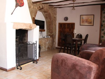 Photo for Beautiful apartment with private patio among the olive groves.