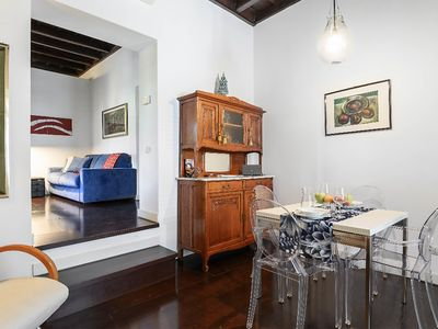 Photo for A delightful apartment in Campo de Fiori