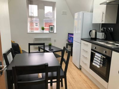 Photo for 5 Person Spacious & Modern Apartment in Cardiff