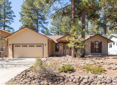 This 3-bed, 2-bath vacation rental home accommodates up to 9 travelers.