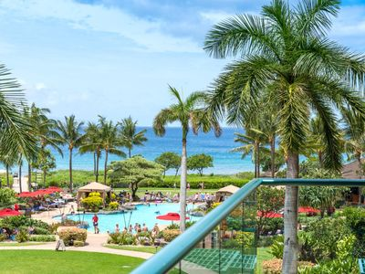 Photo for K B M Hawaii: Ocean Views, Custom Furnishings 2 Bedroom, FREE car! Jul Specials From only $251!