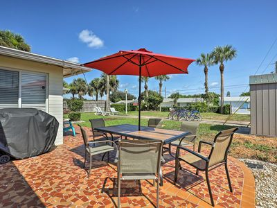 Photo for Home w/ Furnished Lanai - 1 Block to Ormond Beach!