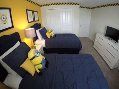 Photo for Amazing House at Storey Lake 4 Bedrooms 3 Baths Private Pool - Minions and Mickey's bedroom! ID: 132938