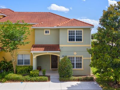 Photo for 5 Bed 4 Bath Town Home With South Facing Pool in Paradise Palms Resort Only Minutes To Disney